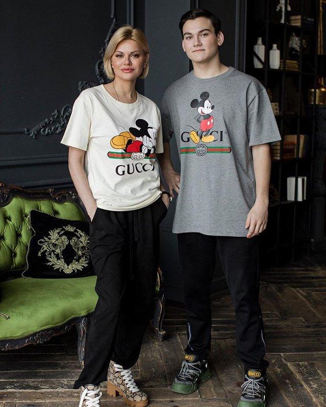 Ирина Круг с сыном