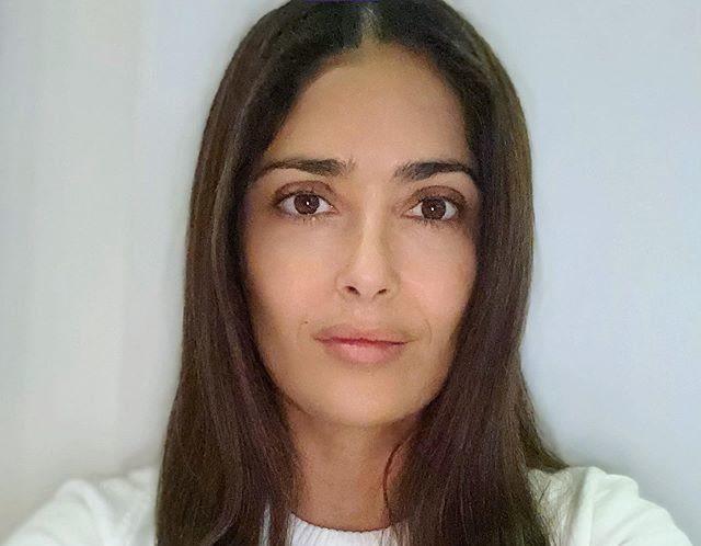 Сальма хайек фото без макияжа