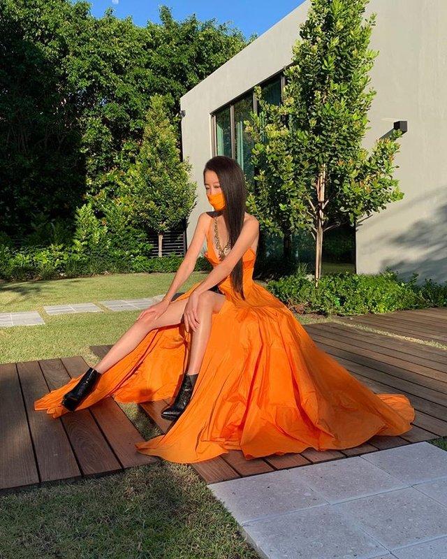 Вера Вонг в платье для Met Gala 2020: фото