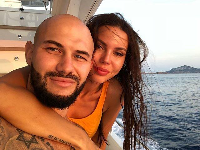 Джиган с женой Оксаной