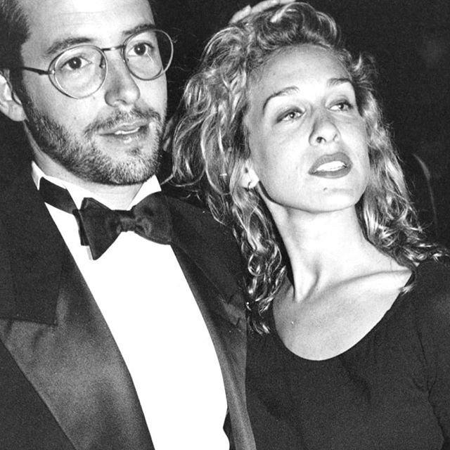 Мэттью Бродерик и Сара Джессика-Паркер архивное фото