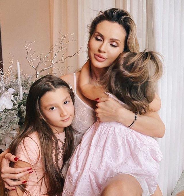 Светлана Лобода с дочерью Евой и Тильдой