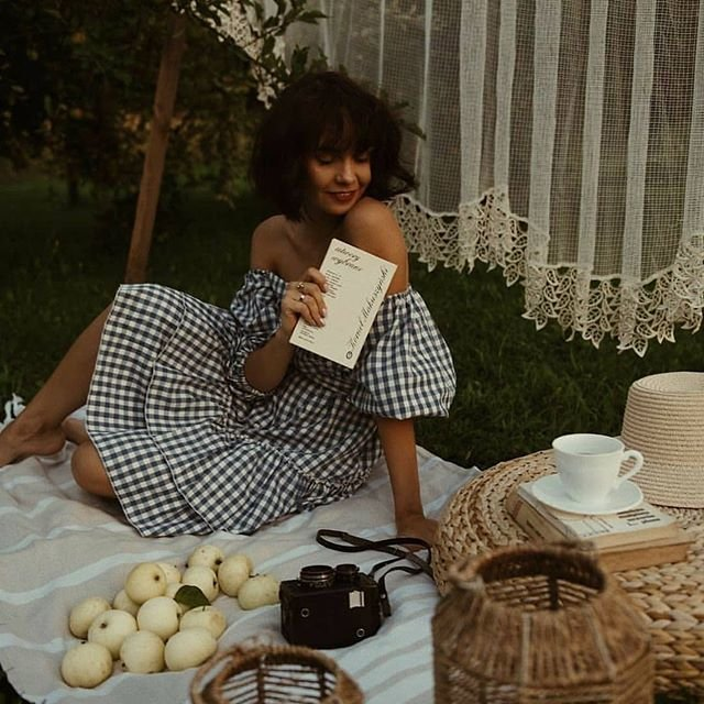 Фото на пикнике
