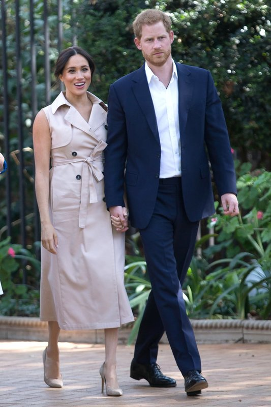 Меган и принц Гарри в Йоханнесбурге, октябрь 2019