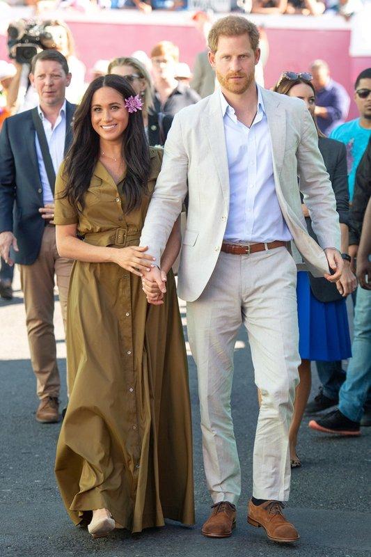 Меган и Гарри в Кейптауне