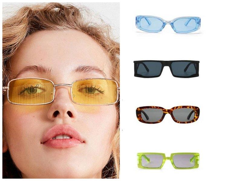 Модные прямоугольные очки