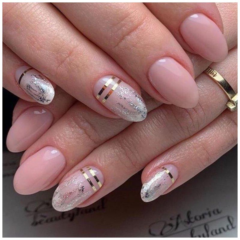 Красивый дизайн на ногтях