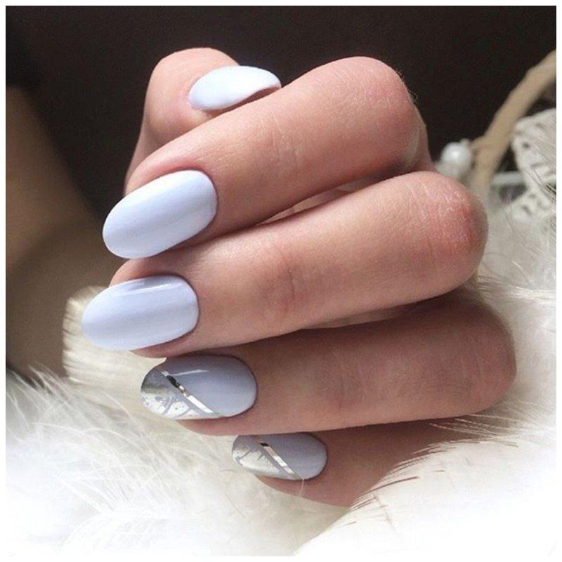 Светлые ногти