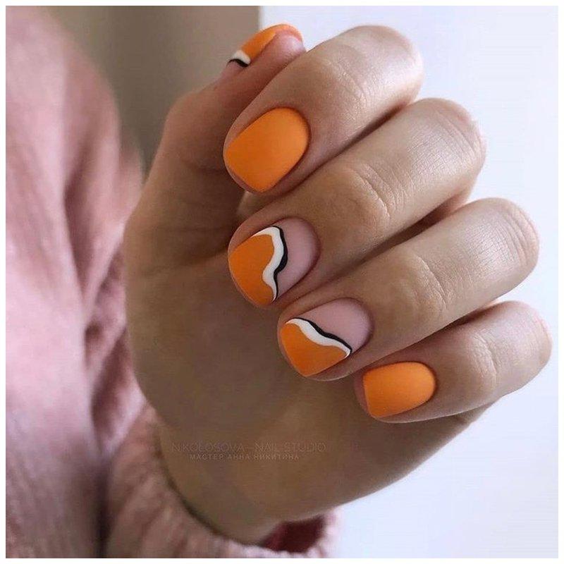 Элегантные желтые ногти