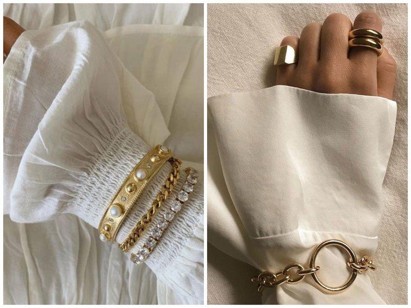 Как модно носить браслеты