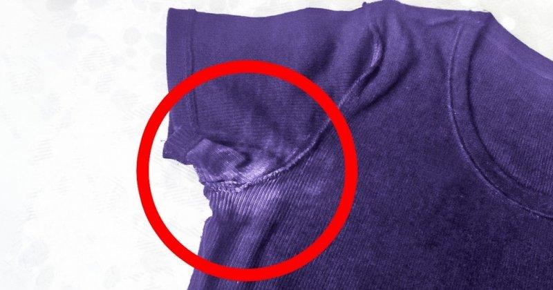 Как убрать пятна от дезодоранта с одежды