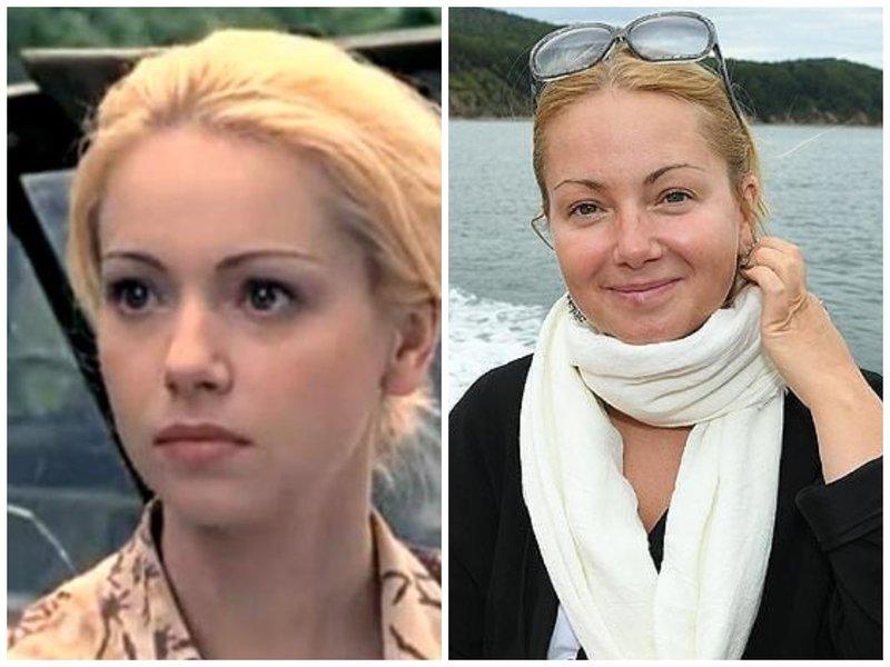 Ольга Будина тогда и сейчас