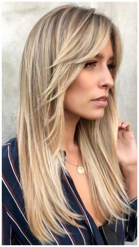 Красивая стрижка для длинных волос