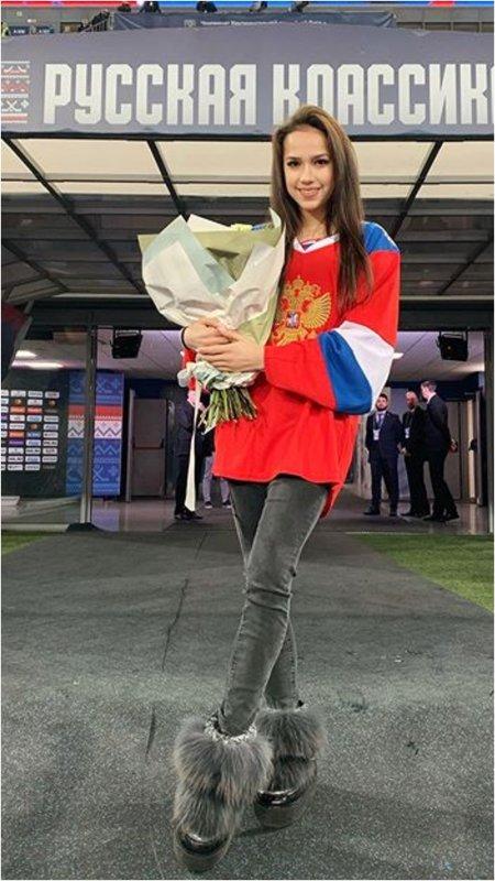 Алина Загитова фото
