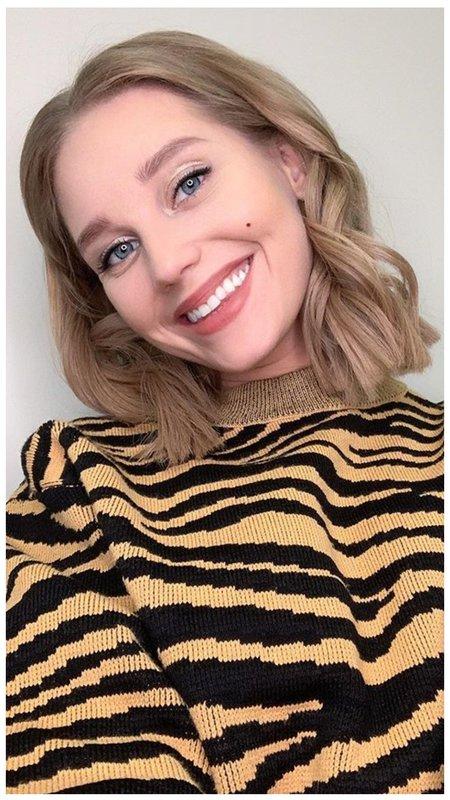 Кристина Асмус короткие волосы