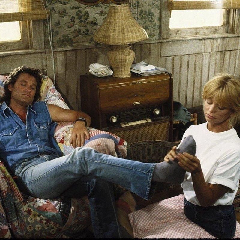 Курт Рассел и Голди Хоун архивное фото