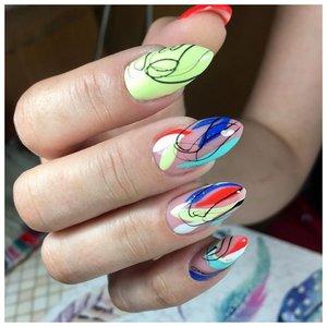 Летние ногти с красивым дизайном