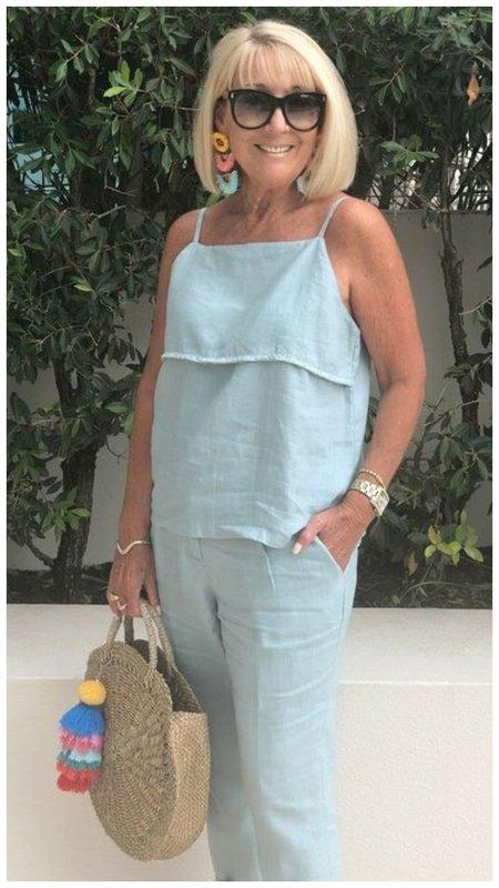 Женщина 50+ стиль на лето