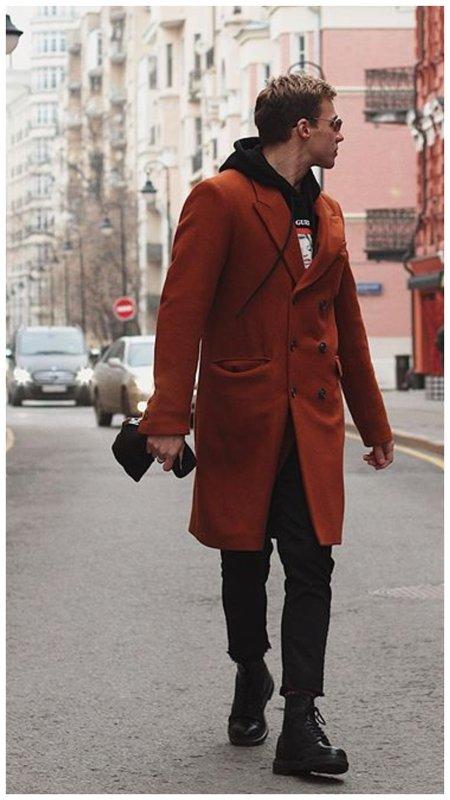 Олег Майами в пальто