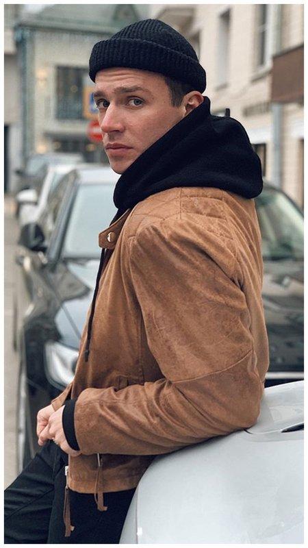Олег Майами в шапке