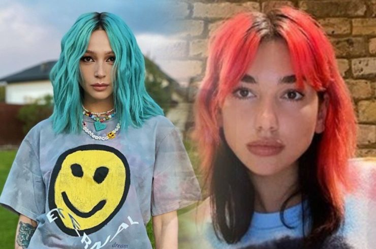 Странный цвет волос знаменитостей
