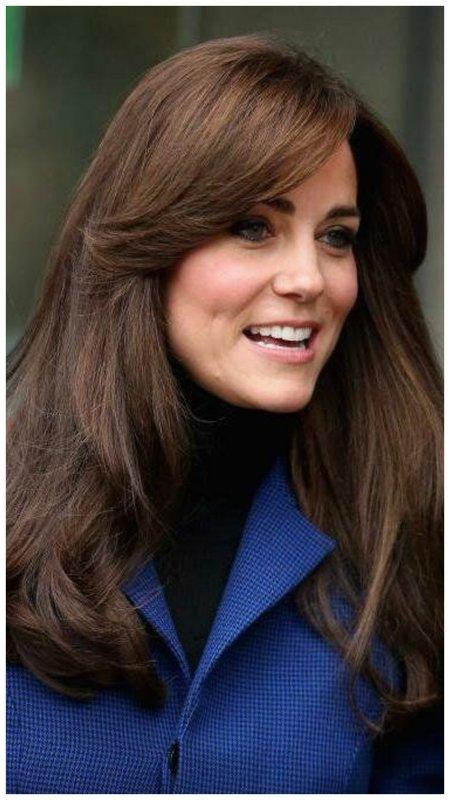 Кейт Мидлтон - волосы