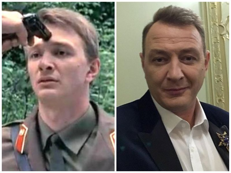 Марат Башаров тогда и сейчас