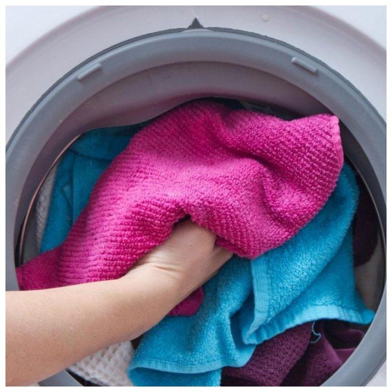 Переполненная стиральная машинка