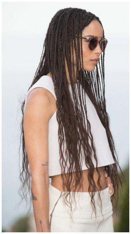 Африканские косички - прическа
