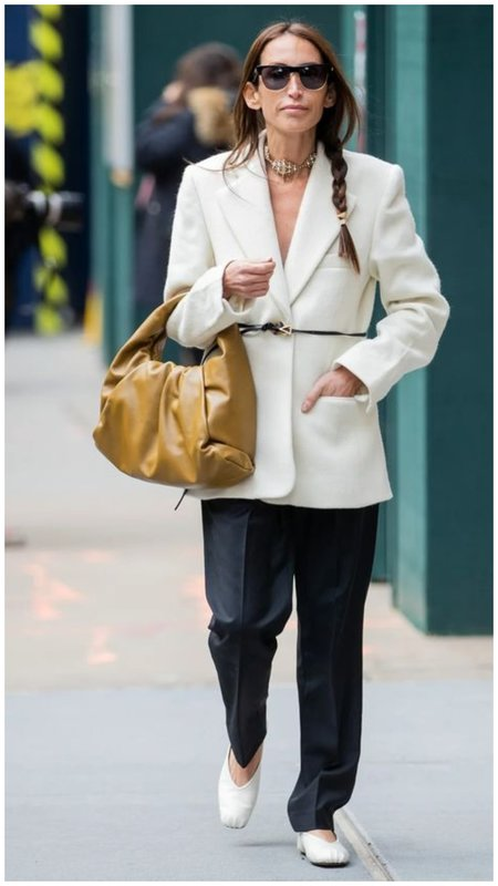Как носить белый пиджак стильно