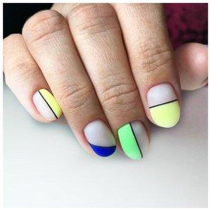 Красивый и легкий дизайн для ногтей