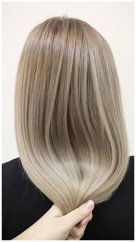 Красивые окрашенные волосы