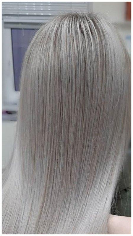 Красивый пепельный блонд