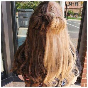 Необычная идея для окрашивания волос