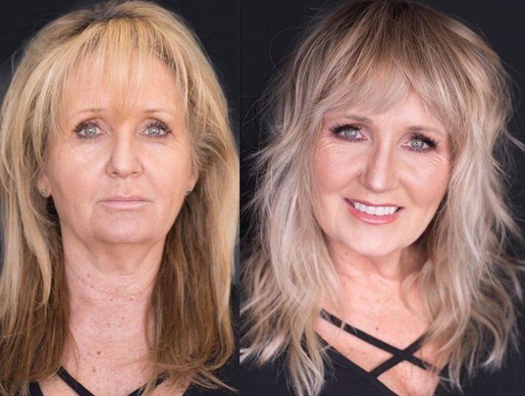 Красивая стрижка для женщин: результат до и после
