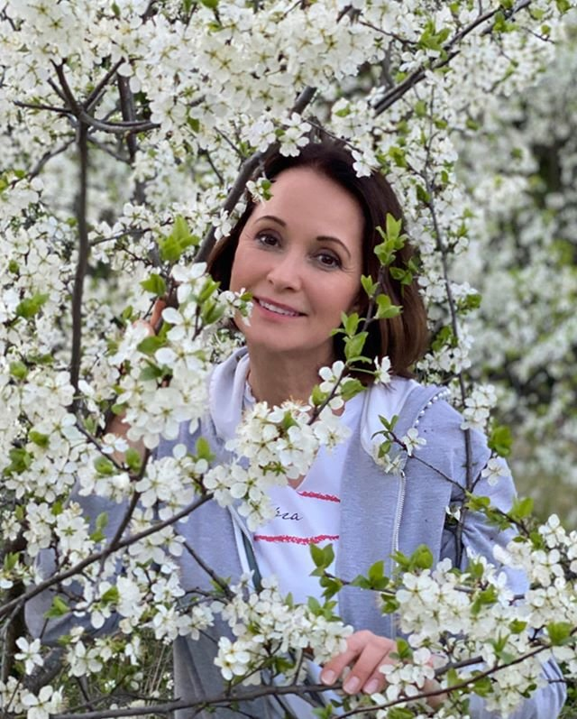 Ольга Кабо весеннее фото
