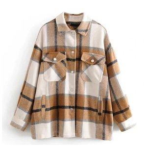 Рубашка-пальто в клетку