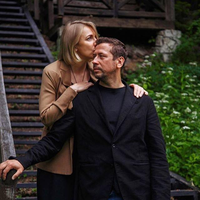 Андрей Мерзликин с женой фото