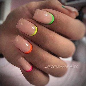 Цветные лунки