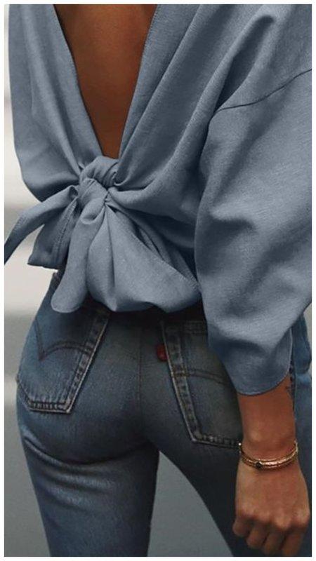 Красивый образ с блузкой