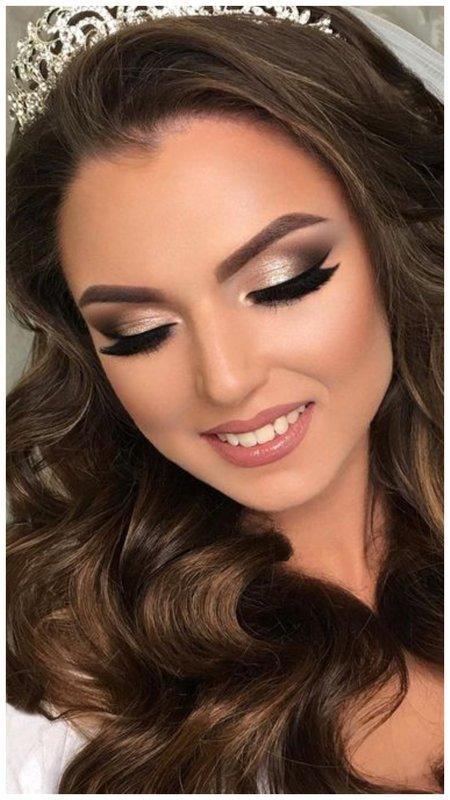 Тренд макияж для зеленых глаз