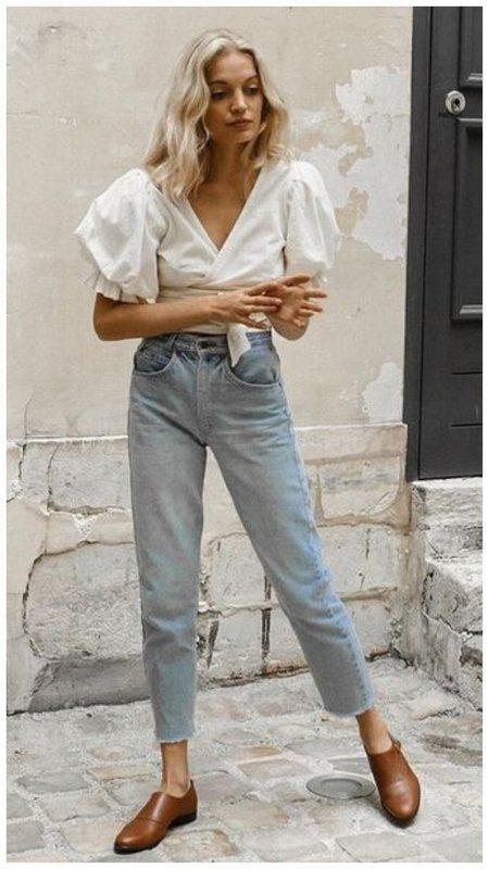 С чем носить джинсы летом