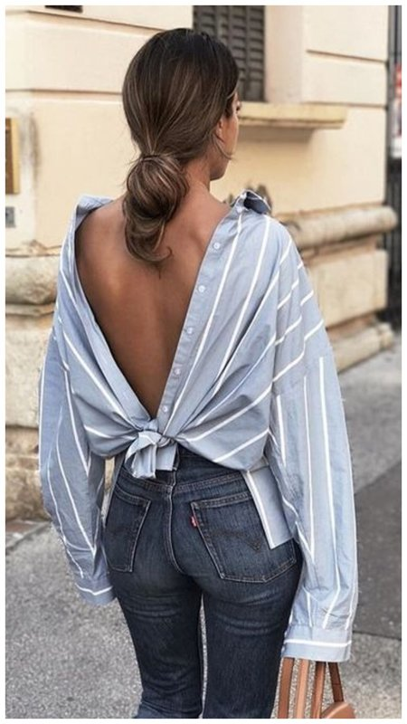 Как носить рубашку стильно