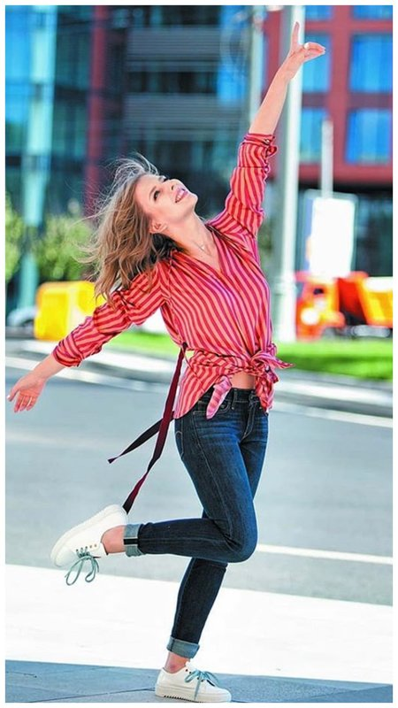 Лиза Арзамасова фото в городе
