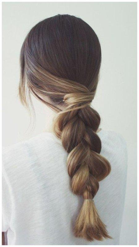 Элегантный способ собрать волосы