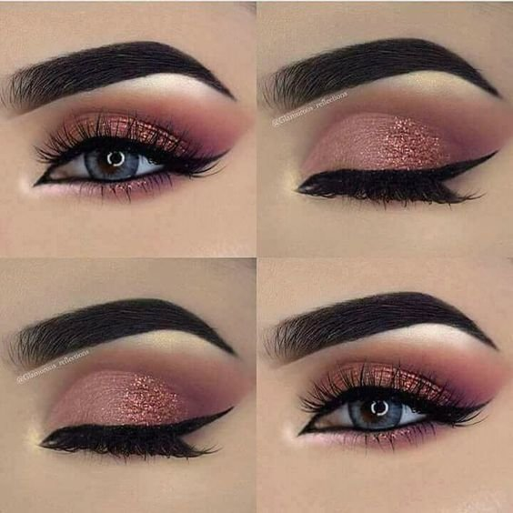 Красивый восточный макияж