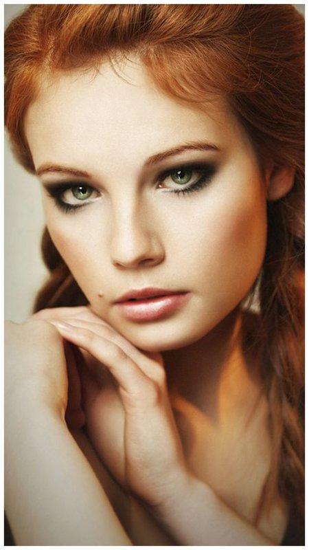 Красивый макияж с акцентом на глаза