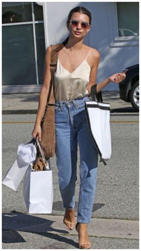 Эмили Ратаковски на шоппинге