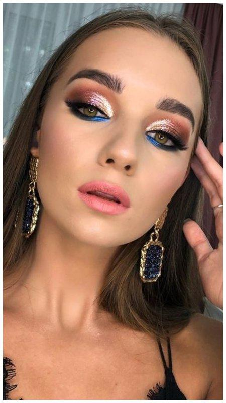 Красивый макияж на праздник