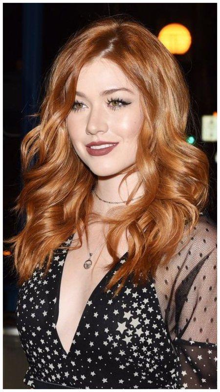 Вечерний макияж для рыжих волос